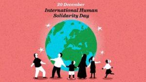 Giornata internazionale della solidarietà umana 2020