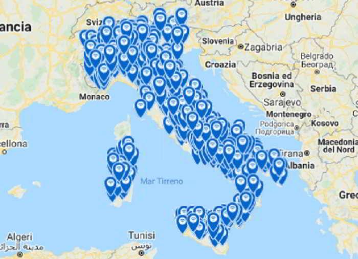 elenco comuni aderenti a wifi italia