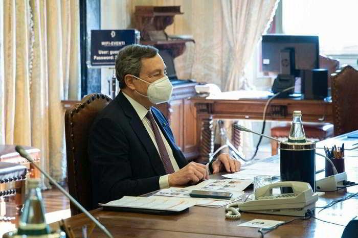 Il Professor Draghi alla consultazioni